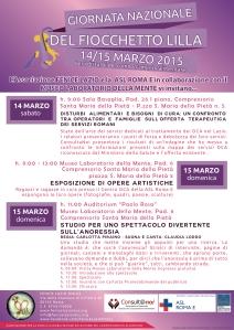 Locandina 15 Marzo 2015 v.4.9 (14 e 15 Marzo)